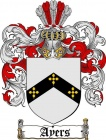 Ayers Coat of Arms/ Ayers Family Crest